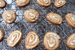 ginger nuts with marzipan